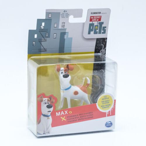 The Secret Life of Pets 20071756 Personnages au choix cinéma Nouveau//Neuf dans sa boîte