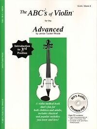 Abc's Of Violin 3 Advanced Pupils Book + Cd-afficher Le Titre D'origine