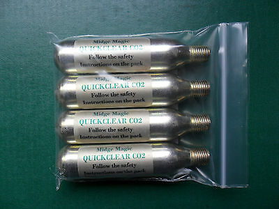 CO2 Quickclear capsules suitable for all Mosquito Magnet traps.