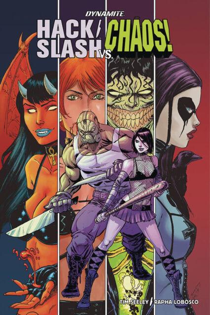 Hack Slash Vs Chaos #1 Main Variant Dynamite 1st Print 2018 unread NM
