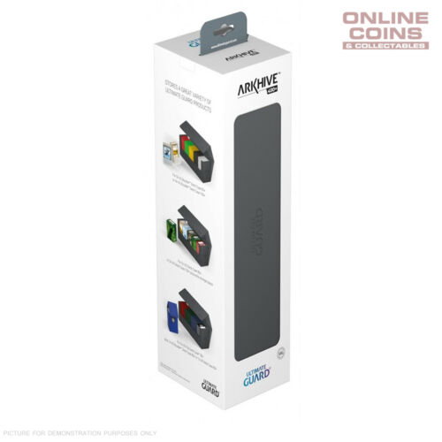 Ultimate Guard ArkHive™ 400 Grey Trading Card Storage Box