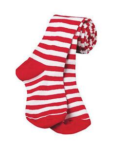 Girls Candy Cane Stripe Tights 4 6 Years Dr Seuss Waldo