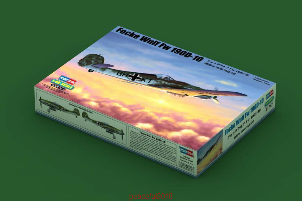 Hobby Boss 1//48 Scale Focke-Wulf FW190D-9 Plastic Model Building Set # 81716