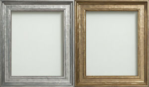 3447d346871 Image is loading Frame-Company-Farraday-Range-Gold-or-Silver-Leaf-