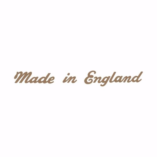 British MADE IN ENGLAND GOLD motorcycle motorbike decal sticker emblem