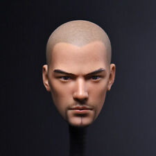 "Head Sculpt 1/6th Dou Zhanshen Holy monk beard ver. head Model F 12"" Male Body"