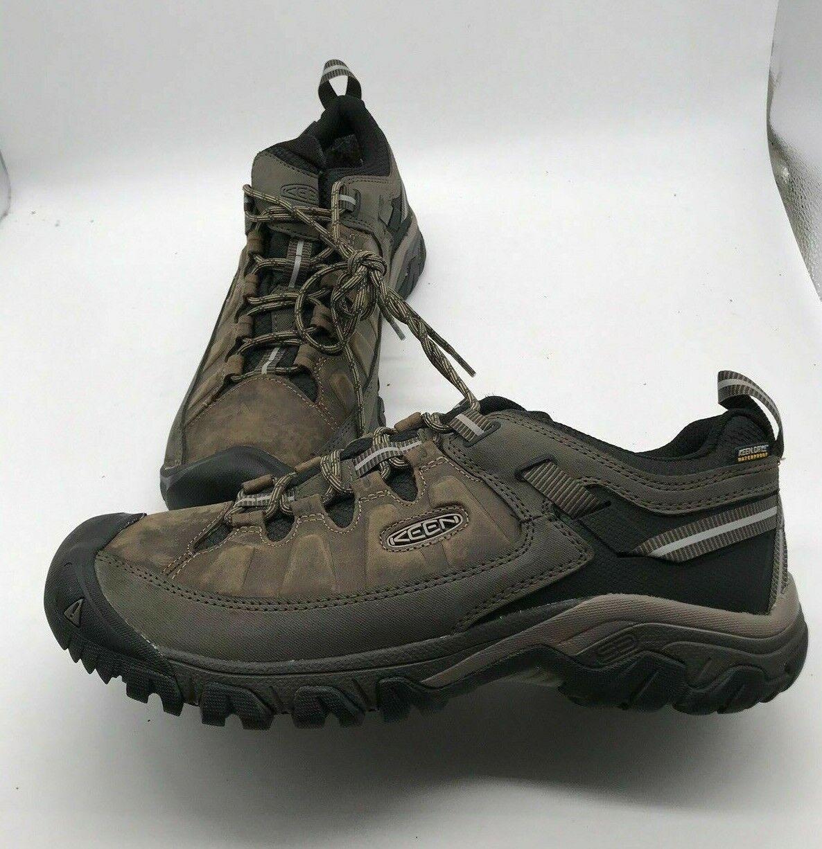 KEEN Outdoor 1017783 Men's Targhee III Waterproof stivali Leather Hiking scarpe