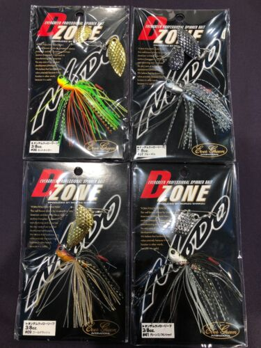 Evergreen D-Zone 3//8oz Tandem Willow Leaf Spinner Bait