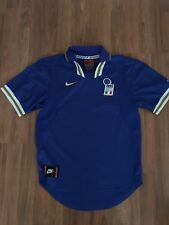 VTG Nike Premier Italy Italia National Team Soccer Home Jersey Size Small