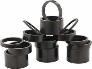 New Whisky 2.5mm UD Carbon Spacer Matte Black 5-pack