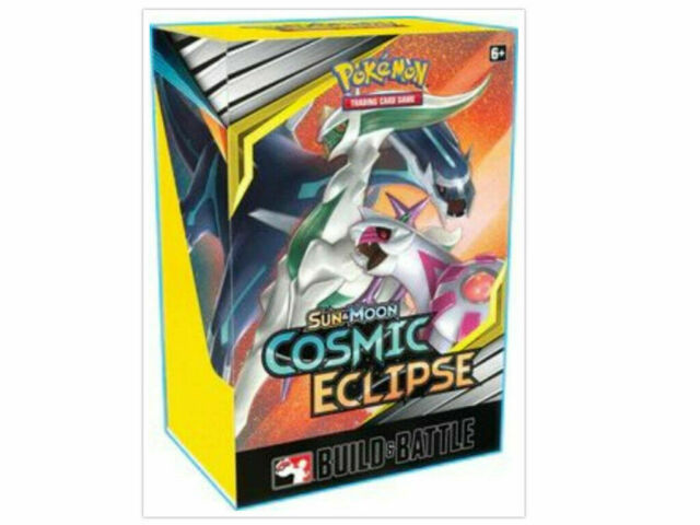 Pokemon TCG Cosmic Eclipse Build & Battle Box Prerelease Kit Sun & Moon SM12