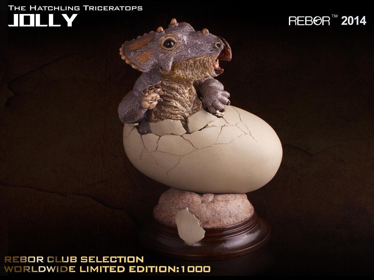 Rebor dinosaurier sammlerstcke jungen triceratops jolly - limited edition