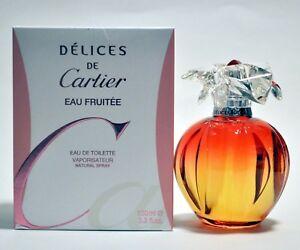 0bcca59a685 Image is loading Delices-de-Cartier-Eau-Fruitee-Cartier-Perfume-Women-