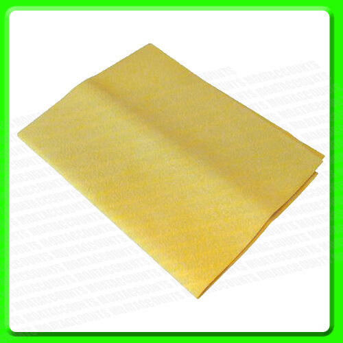 * Pack of 5 55 x 45 cm Large Synthetic Chamois Leather WH205B