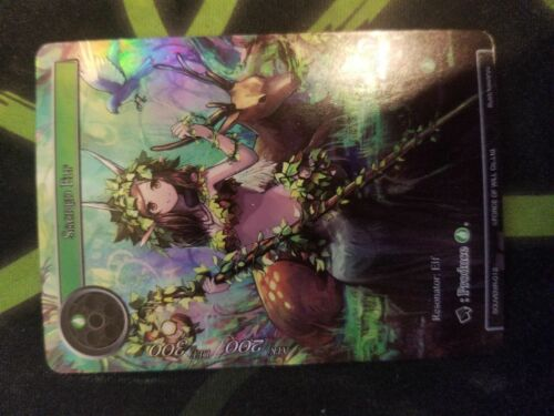 Force of Will Sacred Elf SOUVENIR-012 Full Art Promo Mint