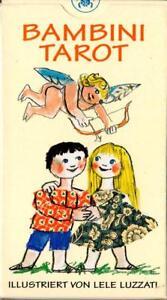 Bambini-Tarot-Children-Tarot-rar-sehr-selten-Sammler-deutsch-eingeschweisst