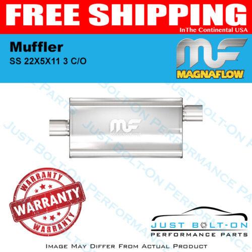 #12589 Magnaflow Muffler Mag SS 22X5X11 3 C//O