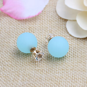 Beauty-Women-Charm-Elegant-Crystal-Candy-Colors-Round-Stud-Earrings-Blue