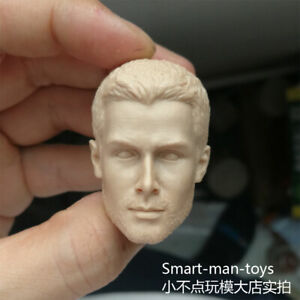 Free-Shipping-1-6-scale-Head-Sculpt-Arrow-Oliver-Queen-Stephen-Amell-unpainted