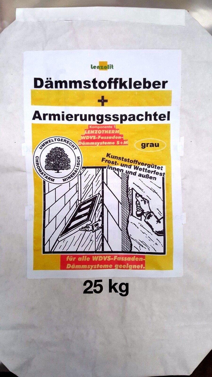Armierungsmörtel faserarmiert Armierunsgspachtel grau Winterrezeptur (  kg)