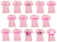 Breast-Cancer-Awareness-Pink-Ribbon-Women-039-s-T-Shirt-Survivor-Support-Boss-Tee miniature 1
