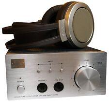 STAX Vacuum Tube Driver Unit & Headphones SRM-007tA & SR-007a Japan Made