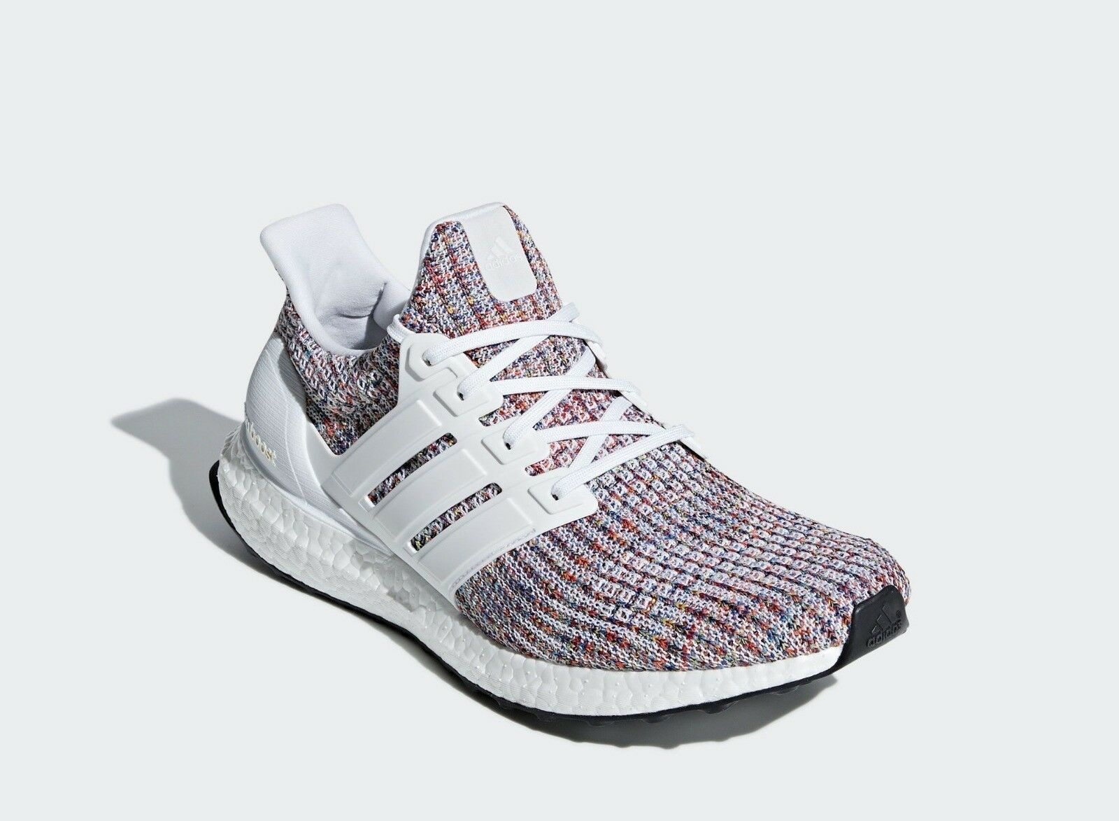 49f1fadb0 Adidas Running Ultra Boost 4.0 White Multicolor Men Sneaker Gym shoes New  CM8111