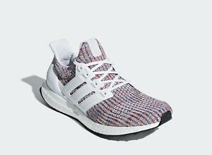 7cc3fbe4d Adidas Running Ultra Boost 4.0 White Multicolor Men Sneaker Gym ...