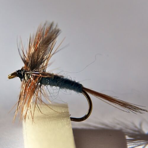 24 Dry Fly fishing Trout /& Grayling Flies 8 patterns,by Dragonflies