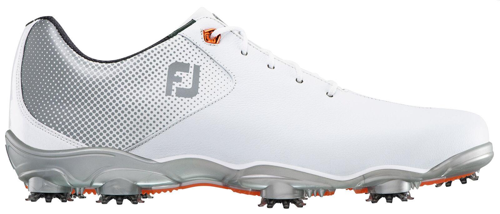 best service 30626 041fe Men s Footjoy Footjoy Footjoy DNA Helix Golf Shoe White Silver 8ceb67