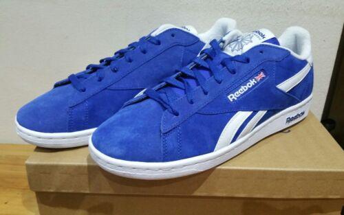 REEBOK NPC UK RETRO LEATHER ROYAL BLUE UK sizes 6 and 6.5