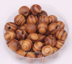 Wholesale-200pcs-Brown-Red-Color-Round-Wooden-Loose-Spacer-Beads-8mm
