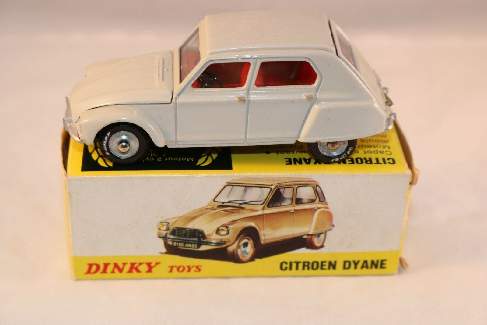 Dinky Toys 1413 Citroen Dyane very very near mint in box all original condition