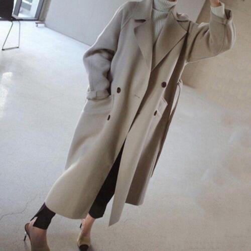 e in cashmere con Jacket Giacca in Outwear lana misto donna oversize cintura cashmere da qvvzCwxS