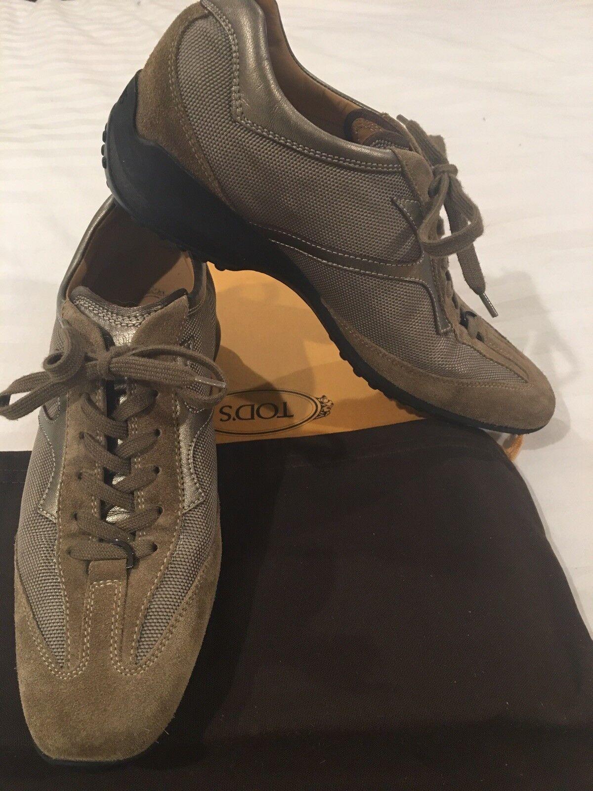 Tod'S Mujer Zapatillas Usado Usado Usado en excelente condición 38 EU 8 Cuero Gamuza Gommini EE. UU.  60% de descuento
