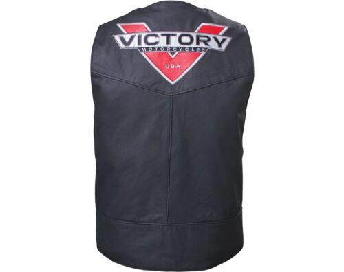 Victory Motorcycles Leather Borderland Waistcoat