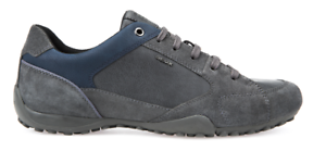 GEOX SCARPA UOMO INVERNALE SNEAKER SPORT SNAKE U7407A 022ME ANTHRACITE/NAVY