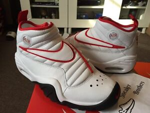 Nike Air Shake NDestrukt Retro Dennis Rodman Bulls White Red Black OG 880869-100