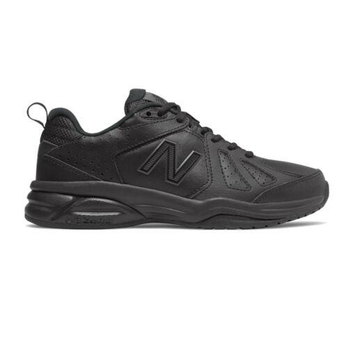 New Balance Womens 624v5 Training Gym Fitness Shoes Black Sports Breathable