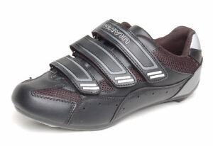 GéNéReuse Gavin Cyclisme Sur Route Chaussures Shimano Spd Ou Compatible Look-afficher Le Titre D'origine