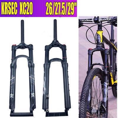 KRSEC XC20 MTB Front Fork 26//27.5//29/'/' Air Suspension Fork 100M Travel ~4 Colors