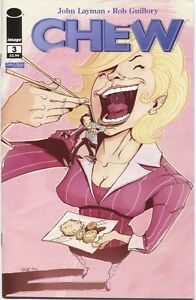 CHEW #3 Image Comic 1st FIRST Print SOLD OUT Near Mint to NM+
