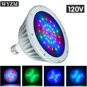 120v 40w Color Changing Swimming Pool LED Light For Pentair or ...