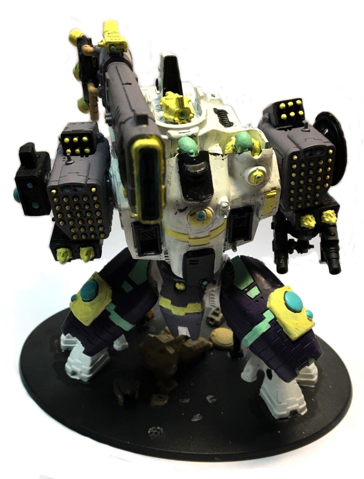 Warhammer 40.00 - Tau KV128 Stormsurge - 1 3 32in scale