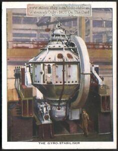 Sperry-Ship-Gyro-Stabilizer-Ocean-Craft-c80-Y-O-Trade-Ad-Card