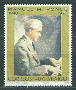 Mexico Mail 1974 Yvert 799 MNH Painting