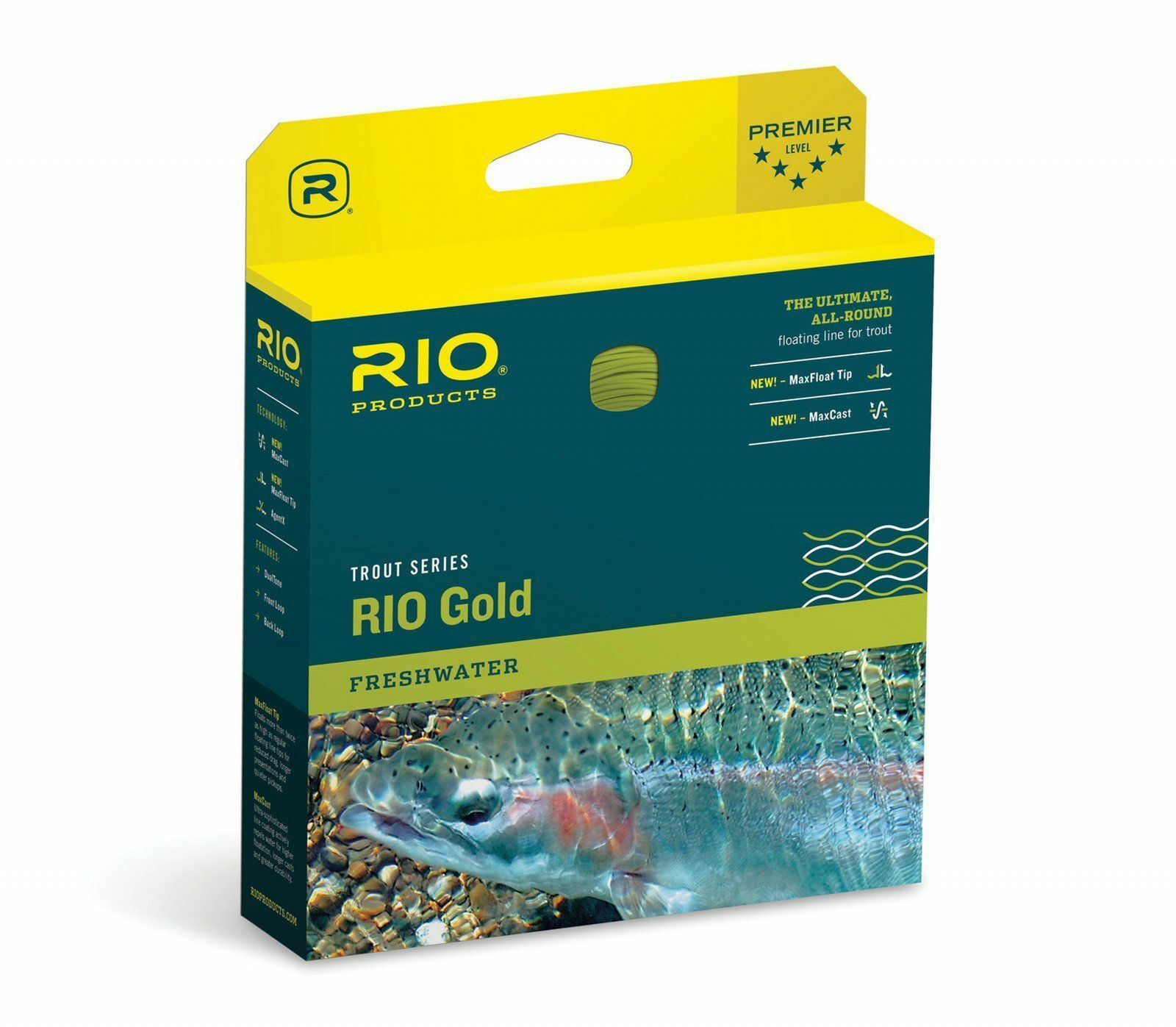 RIO oro Trout Series AllAround Floating Fly Line WF4