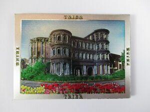 Trier-Porta-Nigra-Premium-Souvenir-Magnet-Germany-Deutschland-Laser-Optik