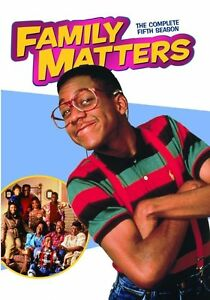 Family-Matters-Complete-Fifth-Season-5-Five-DVD-Set-Series-TV-Show-Comedy-Drama