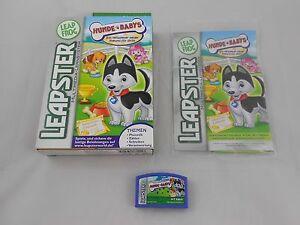 Kindercomputer Leapster Hunde Babys Spiel Software Leap Frog Lernspiel Zählen Schreiben